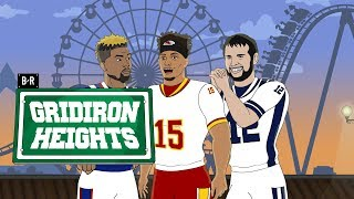 Patrick Mahomes' Voice Is the Best Thing at the NFL Carnival | Gridiron Heights S3E5