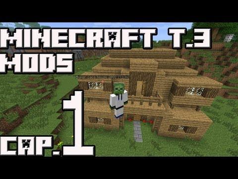 NUEVA SERIE Minecraft Mods T.3 Cap.1 Muertes everywhere!!