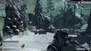 Call of Duty Ghosts:Multiplayer Gameplay Search and Rescue on Whiteout Full Gamescom