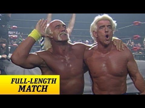 FULL-LENGTH MATCH - Nitro - Hulk Hogan & Ric Flair vs. Sting & Lex Luger