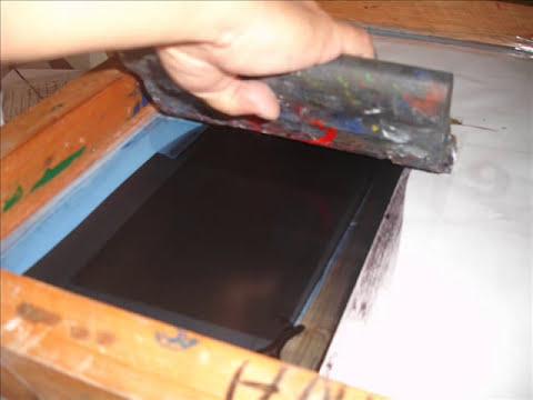 Estampados en acrilicos - www.cursodeserigrafia.webpin.com