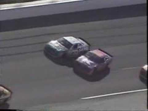 1996 Daytona 500 - John Andretti Crash Video