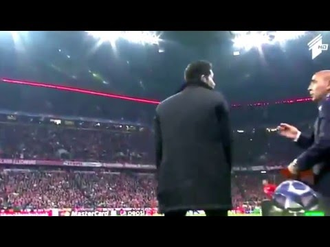 Diego Simeone Slap Referee | Bayern Munich Vs Atletico Madrid 2-1