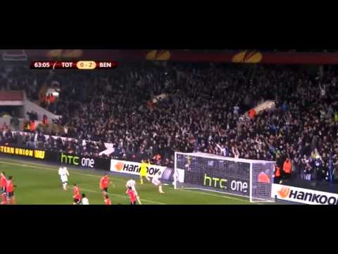 Christian Eriksen Amazing Free Kick Goal   Tottenham vs Benfica 1 2 HD  Europa League  13  03  20