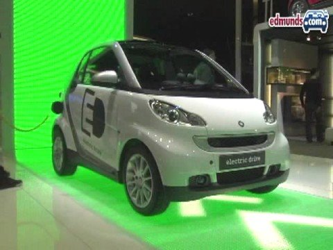 SMART Electric ForTwo @ 2008 Paris Auto Show