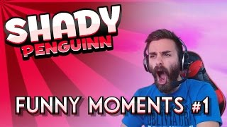 Funny Moments Montage with ShadyPenguinn - Week One!