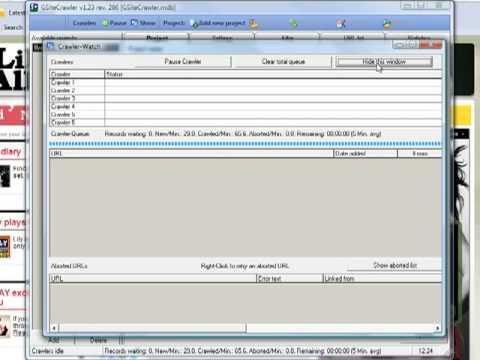 GSiteCrawler - site map generator. link checker. SEO tool review