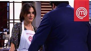 La giornata no di Maria Grazia Cucinotta | Celebrity MasterChef Italia