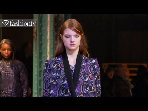 Kenzo Fall/Winter 2013-14 Show | Paris Fashion Week PFW | FashionTV