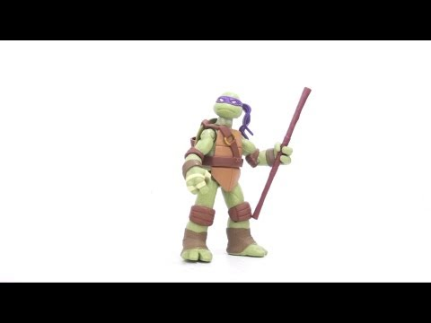 Video Review of the 2012 Teenage Mutant Ninja Turtles; Donatello
