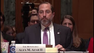WATCH LIVE: HHS secretary testifies on coronavirus, Trump's budget proposal cuts to health care
