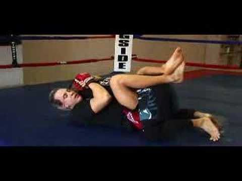 MMA Guard Posture Breaking and Arm Triangles Image 1