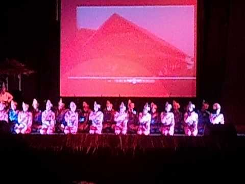 Saman Dance  Tari Saman By Hasanuddin University, Ukm Tari, Indonesian Traditional Dance video
