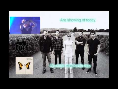 Paramore - Intro Brand New Eyes Tour [Lyrics - Sub Español] [HD]
