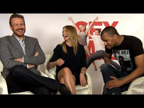 "CAMERON DIAZ & JASON SEGEL on ""SEX TAPE"" - PATZE TALKS"