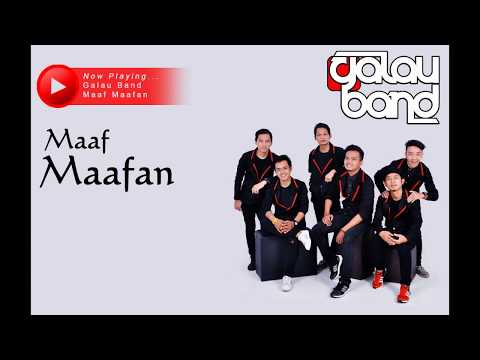 Galau Band - Ma'af Ma'afan (Official Lyrics Video)