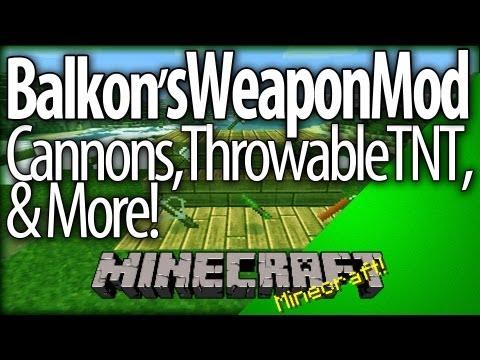 Minecraft: Balkon's Weapon Mod   YogBox In Depth (Mod Spotlight / Tutorial) Part 1/3