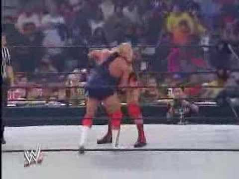 john cena debut against kurt angle Video