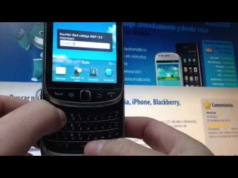 Liberar Blackberry 9810 Torch por imei. Movical.Net