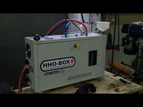 Тест водородного сварочного аппарата