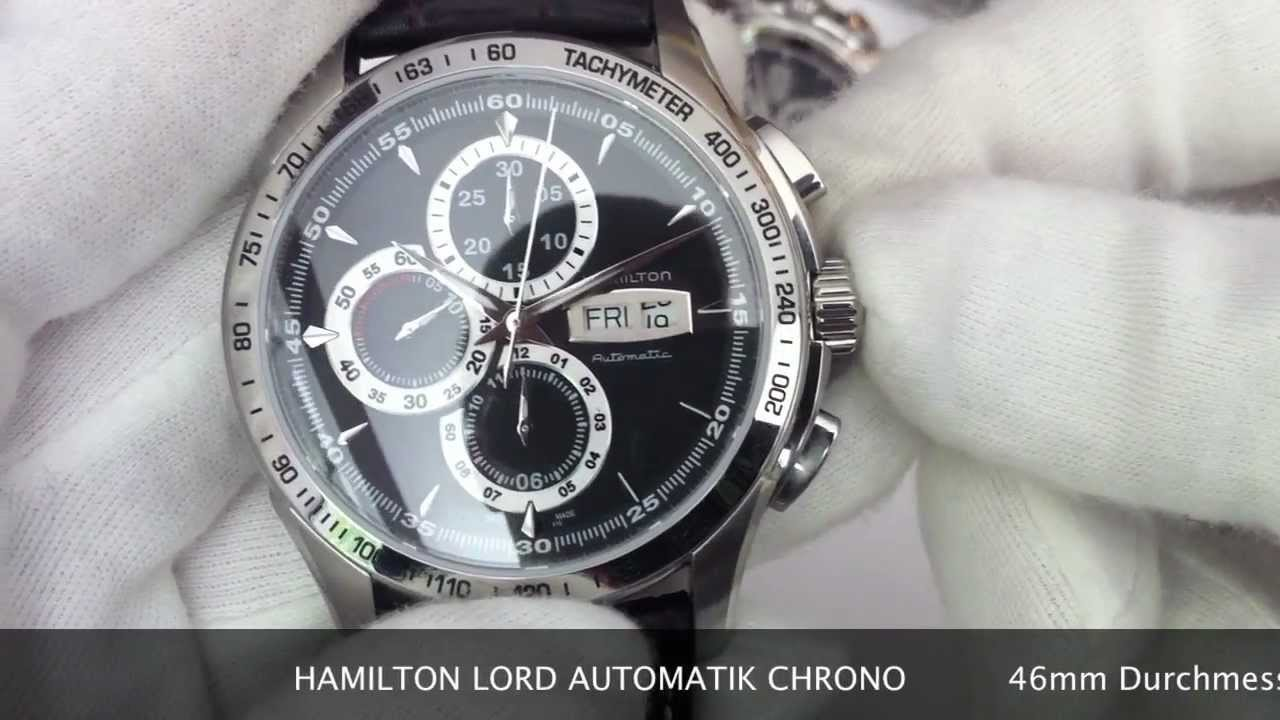 Hamilton lord automatik chrono h32816531 h32816131 www How design com
