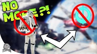 NO MORE HERO PICKUPS OR JUMP PACKS! - Battlefront 2