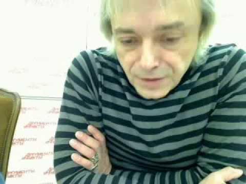 Online-конференция К.Кинчева в редакции газеты «Аргументы и Факты» (Москва), 25 ноября 2008