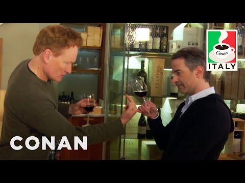 Conan & Jordan Schlansky's Italian Wine Tasting  - CONAN on TBS