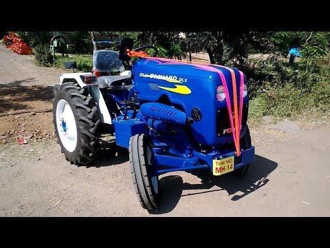 New Force Orchard OX25 DLX Tractor For Agriculture / Farming India 2014 [HD VIDEO]