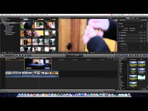 Final Cut Pro X Basics Tutorial Pt. 1 - Auditioning Clips