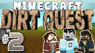 Minecraft - DirtQuest #2 - Toothbrush Shanks (Yogscast Complete Mod Pack)