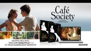 CAFE SOCIETY - En DVD, Blu-ray et VOD