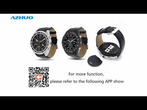 New Finow Smart Watch Q7 Android 5.1 MTK6572 3G Wifi Bluetooth With Camera SIM Card TF Card