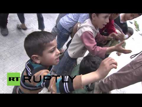 Syria: Russian troops deliver more than 3 tonnes of aid to Latakia
