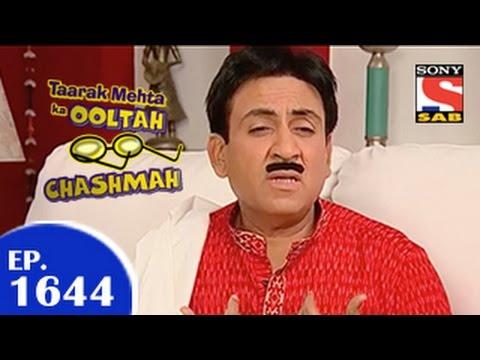 Taarak Mehta Ka Ooltah Chashmah - तारक मेहता - Episode 1644 - 6th April 2015 video