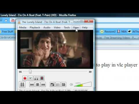 How to Play flv files from the internet and record videos in Vlc media player without downloading!!!