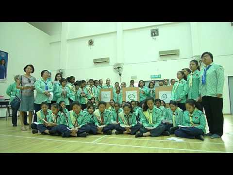 """""""We are one voice"""" by Malaysia Girl Guides"""