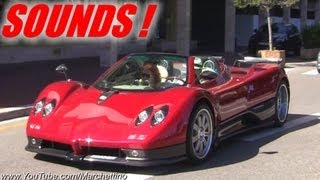 BEST of Supercars Sounds in Monaco!