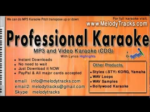 Tum dil ki dhadkan mein - Abhijeet Alka KarAoke - www.MelodyTracks...