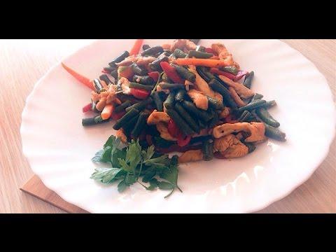 Правильное питание/Куриное филе с овощами/ПП рецепты