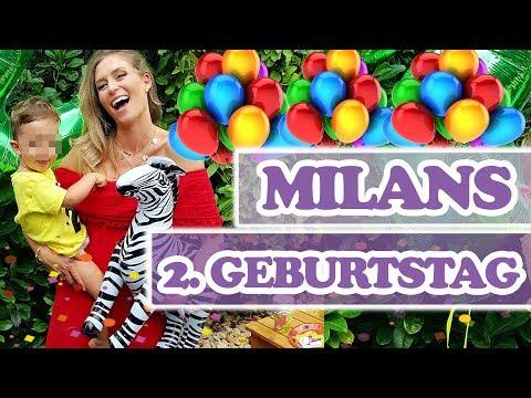 MILANS 2. GEBURTSTAG - wer hatte mehr Spaß, Mama oder Kind