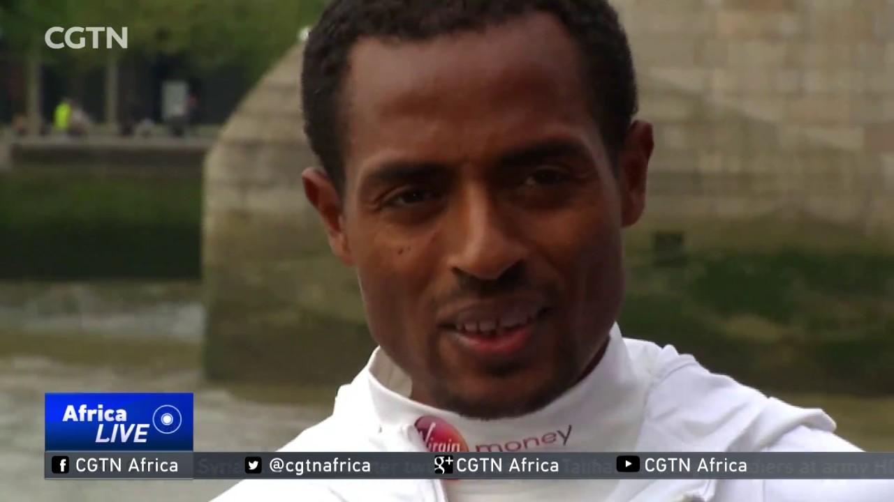 Ethiopia's Kenenisa Bekele aims to break world record at the London Marathon