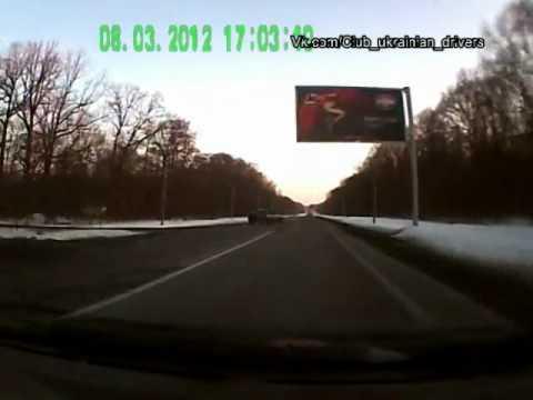 Подборка видео аварий. Весна 2012. Часть 1