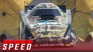 Courtney Force vs. John Force - Denver Funny Car Final - 2016 NHRA Drag Racing Series