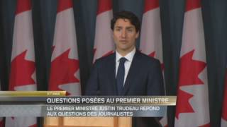 PM Justin Trudeau's news conference at end of Parliamentary Session - 22 Jun 2016