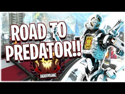 Road to Predator BEGINS AGAIN!! (Apex Legends PS4)