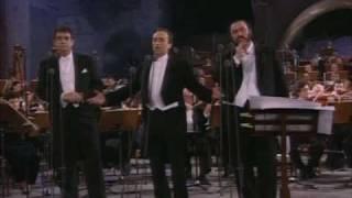 Los Tres Tenores Nessun Dorma To Choir Roma 7 7 1990