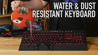 Water & Dust Resistant Keyboard: The Corsair K68