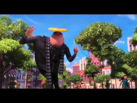 Despicable Me 2   Frisbee Freestyle   Happy (by Pharrell Williams) video