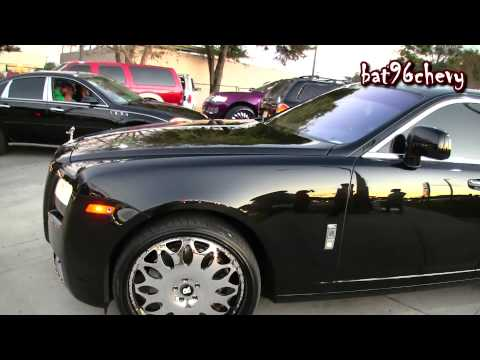 ALL BLACK Rolls Royce Ghost on 24